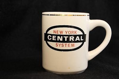New York Central System Coffee Tea Mug Cup