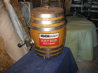 RICHARDSON ROOT BEER DISPENSER COLLECTIBLE?  pricelowered