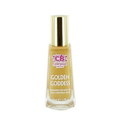 Cocoa Brown Golden Goddess Dry Body Oil 50ml