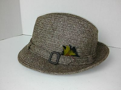 Vintage Dobbs Fifth Avenue Men's Size 7 Wool Feathered Fedora Hat