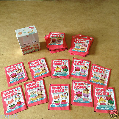 Topps Num Noms Smell So Delicious Sticker Packets New Scented Stickers