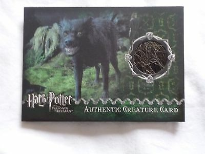 Harry Potter Prisoner Of Azkaban Creature Card ARTBOX GRIM FUR 756/880