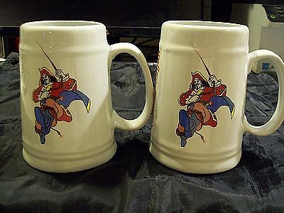 2 Captain Morgan Ceramic Mugs Very Nice!!!!
