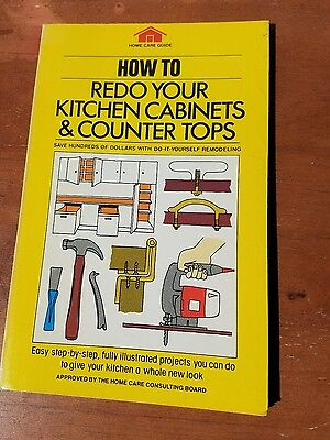 How to Redo Your Kitchen Cabinets Softback book 1981