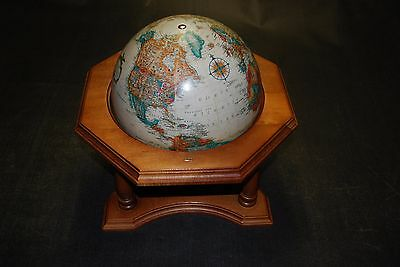 1991 Replogle World Classic Series Relief Map Executive Style Desktop Globe