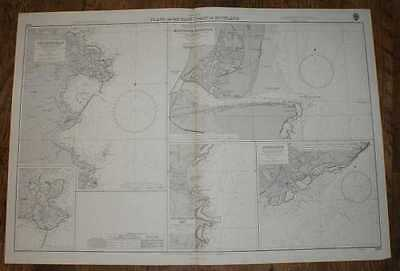 Nautical Chart No. 1438, British Isles, Scottish East Coast. Various Scales 1974
