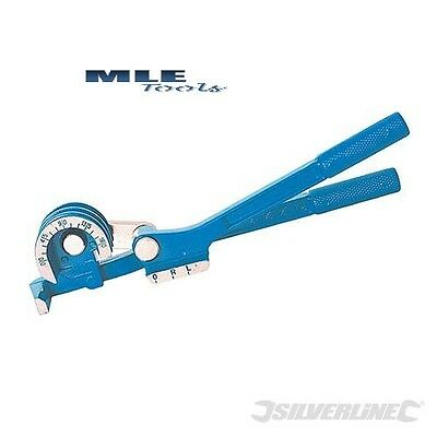 Silverline Mini Pipe Bender 6, 8 and 10mm copper plumbing 180° 270mm  MS129