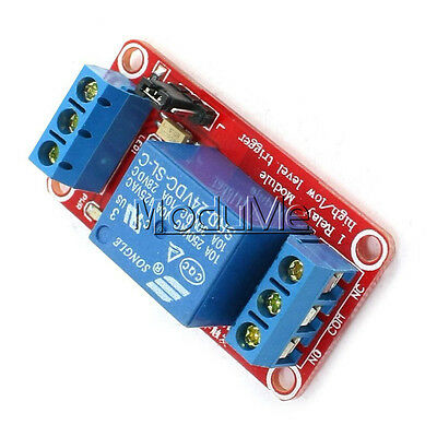 DC 24V 1-Channel Relay Module with Optocoupler H/L Level Trigger for Arduino MO