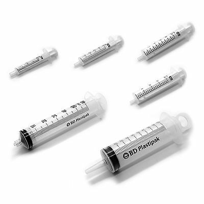BD - 2ml 5ml 10ml 20ml 50ml-60ml 100ml Medical Syringes Sterile Choice of Qty