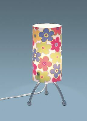 Quandt Table Lamp Cylindre Flowers Classic