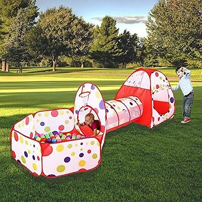 Play Indoor Outdoor Playgrounds Tunnel And Tent for Kids Children Boys Girls