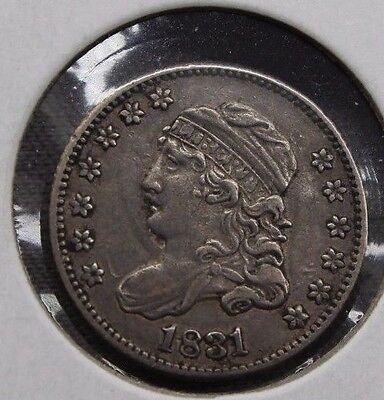 1831 5C Capped Bust Half Dime XF