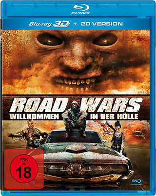 Road Wars (3D & 2D) NEW Cult Blu-Ray Disc Mark Atkins C. Farnworth C. Parker