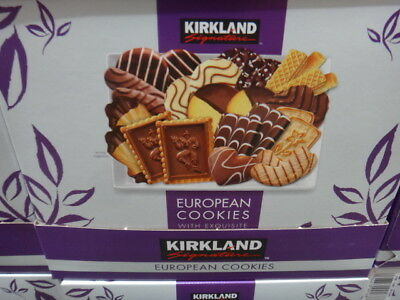 Kirkland Signature European Cookies With Exquisite Chocolate 1 Kg