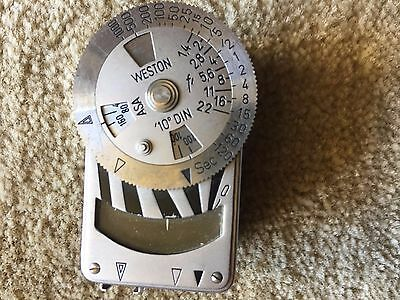 Weston Metraphot Leica Meter Light Meter for Rangefinder Cameras