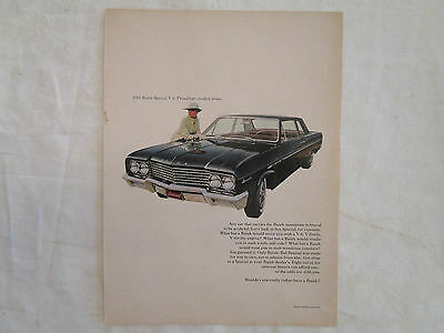 1965 Buick Special Original Ad from Newsweek January 1965