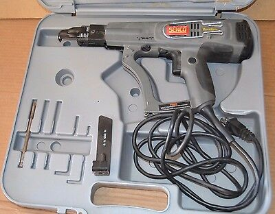 Senco DuraSpin DS200-AC Screw Gun, GREAT Condition W/ Hard Case & Bits