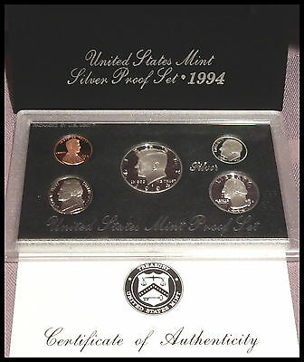 Coin Collection of Uncirculated and Proof Sets 154 Coins in Lot 1980's - 1990's