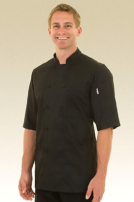 Chef Works Men's Montreal Cool Vent Chef Coat (JLCV)