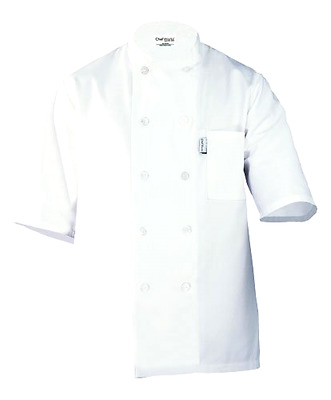 Chef Works Men's Volnay Chef Coat (PCSS)