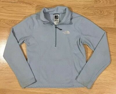 The North Face Pullover Fleece Girls Size Small Blue
