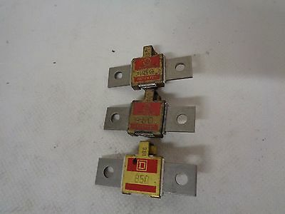 Lot Of (3) Square D B50 Overload Heaters