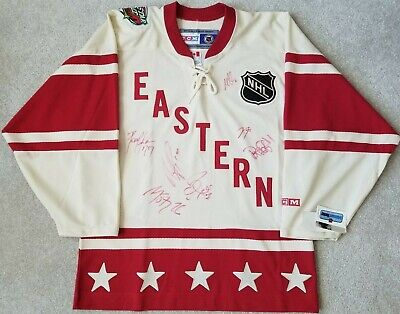 Team Signed NHL 2004 Eastern All Star Jersey Brand New