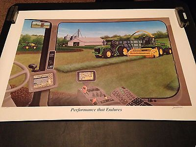 "Limited Edition 2009 John Deere ""Performance that Endures"" Print"