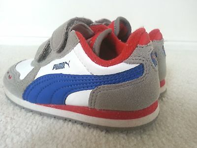 Pre-loved Boys Running Shoes, Puma, size US 7 in Excellent Condition