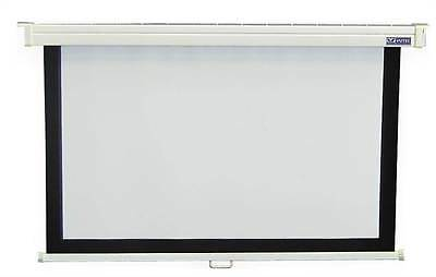 45 in. x 80 in. Econopro Deluxe Manual Wall Screen in 16:9 HDTV Forma [ID 48791]