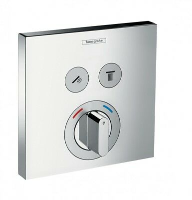 Hansgrohe ShowerSelect mixer for concealed installation for 2 outlets #15768000