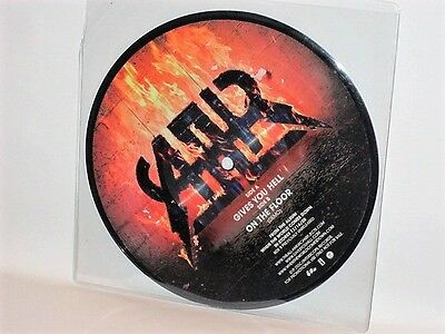 "All American Rejects - Gives You Hell 7"" RARE PROMO Picture Disc On The Floor"