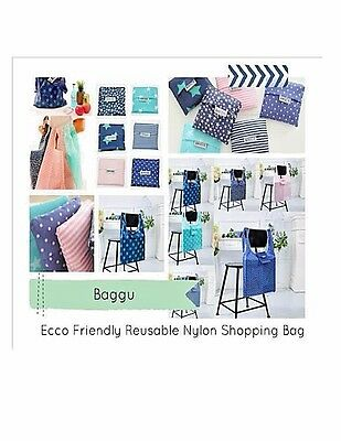 New Eco Shopping Travel Shoulder Pouch Tote Folding Reusable Bags USA Shipper
