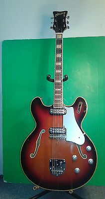 Vintage Welson hollowbody electric guitar made in Italy