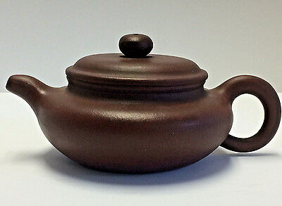 Antique Chinese Yixing Teapot Very Well Made Multiple Marks Beautiful