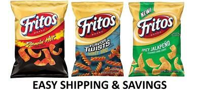 Fritos Corn Chips Multiple Variety 9.25 Oz Spicy Honey Regular Chili Free Ship