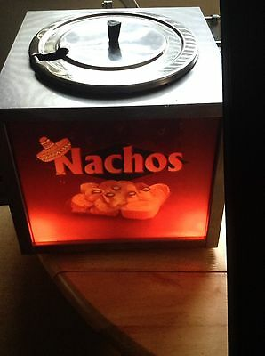 Lighted Nacho Cheese Warmer Brand New And NSF Certified