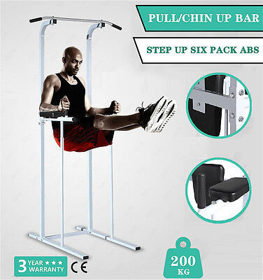 Pro Multi Function Fitness Power Tower Dip AB Pull/Chin Up Bar Workout Station
