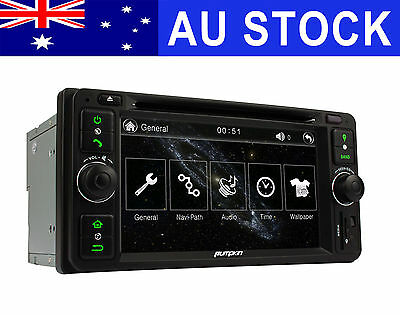 6.2 inch CAR DVD GPS Player Stereo navi head unit For 2005-2011 Toyota Hilux MR2