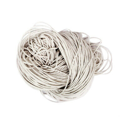 80 Meters Waxed Cotton Cord Bundle 1.5mm for Jewellery Making String Thread