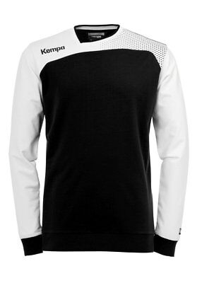 Kempa Kids Emotion Training Sports Long Sleeve Top Sweatshirt Junior Black ...
