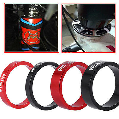 4PCS Aluminium Alloy 5/10mm 3Colors Spacers For Stem Bicycle Bike Headset Washer