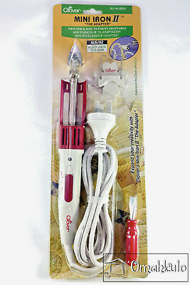 CLOVER - Mini Iron II - The Adapter - For Crafts, Quilting, Sewing, Patchwork -*
