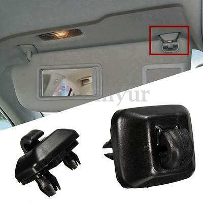 Black Sun Visor Hanger Hook Clip Bracket For Audi A1 A3 A4 A5 Q3 Q5 8E0857562 UK