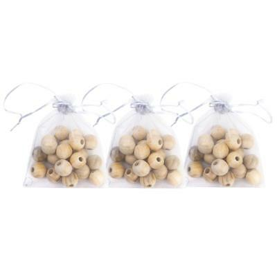 60Pcs Nature Wood Moth Balls Camphor Bug Repellent Insect Proof Mothproof