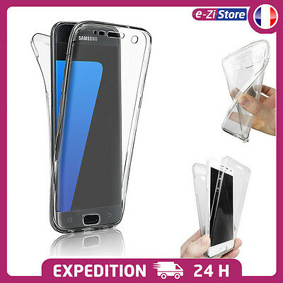 Coque Silicone Intégrale Housse Tpu Protection Samsung Galaxy S9 S8 S7 S6 Edge