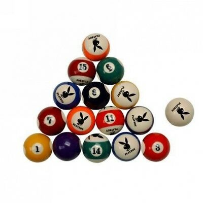 Playboy Set Of 16 Logo Pool Balls