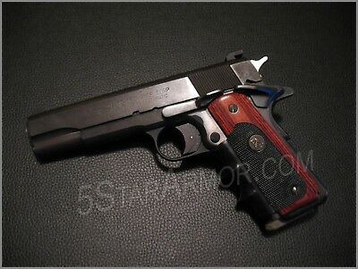 Pachmayr (ROSEWOOD) American Legend Grips for full size COLT 1911s Government