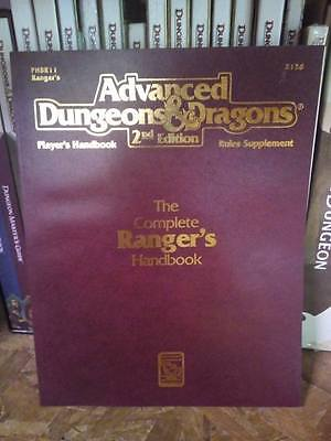 AD&D The Complete Ranger  Handbook TSR Advanced Dungeons & Dragons