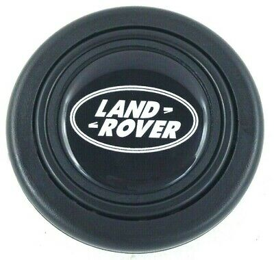 Land Rover steering wheel horn push button. Fits Momo Sparco OMP Nardi Raid etc